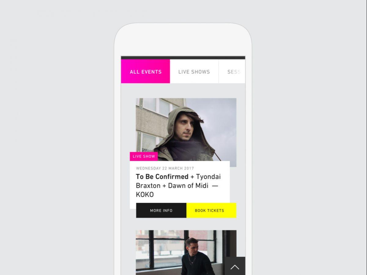 Platform for London music, art and technology festival
