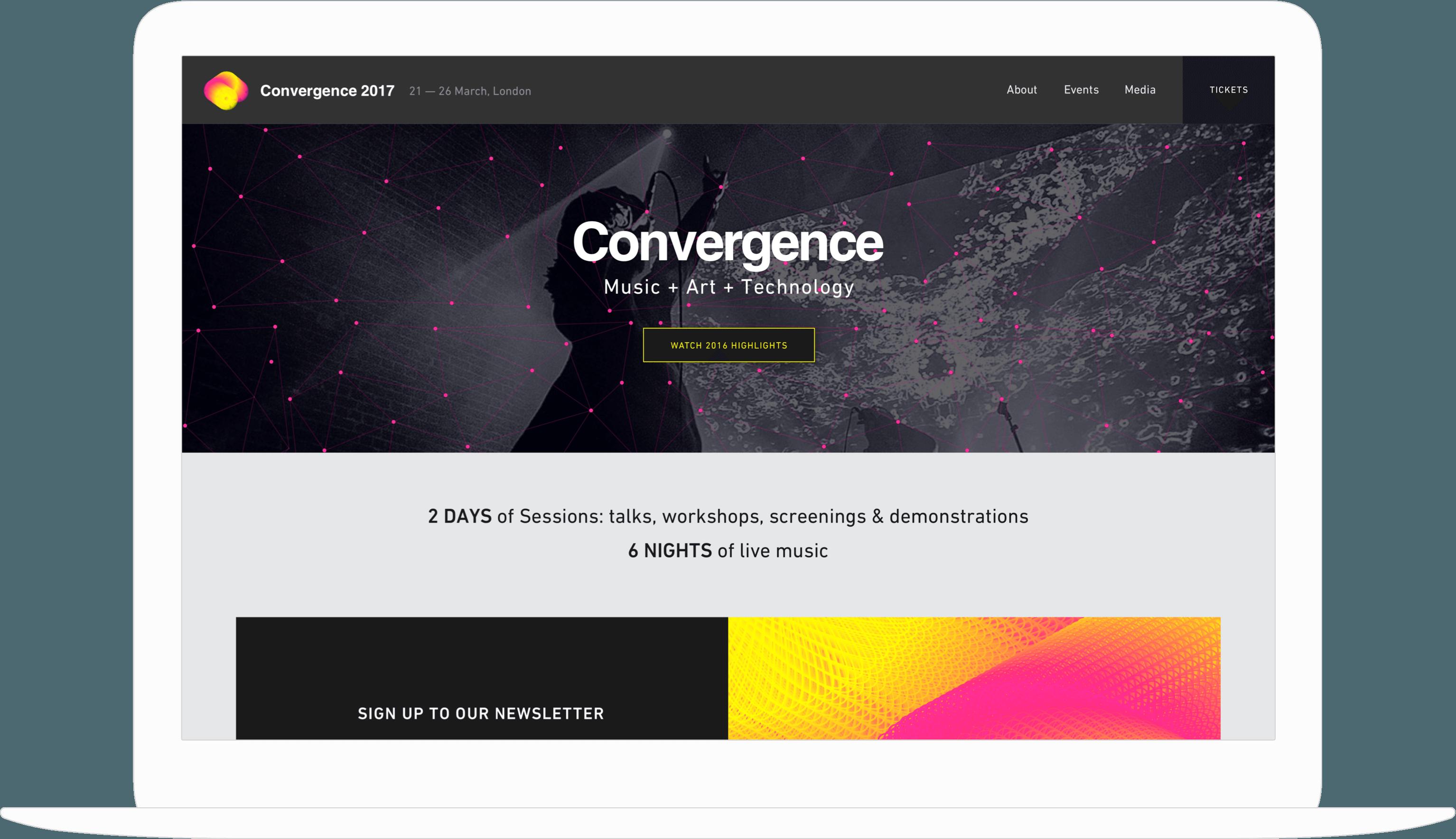 Convergence desktop